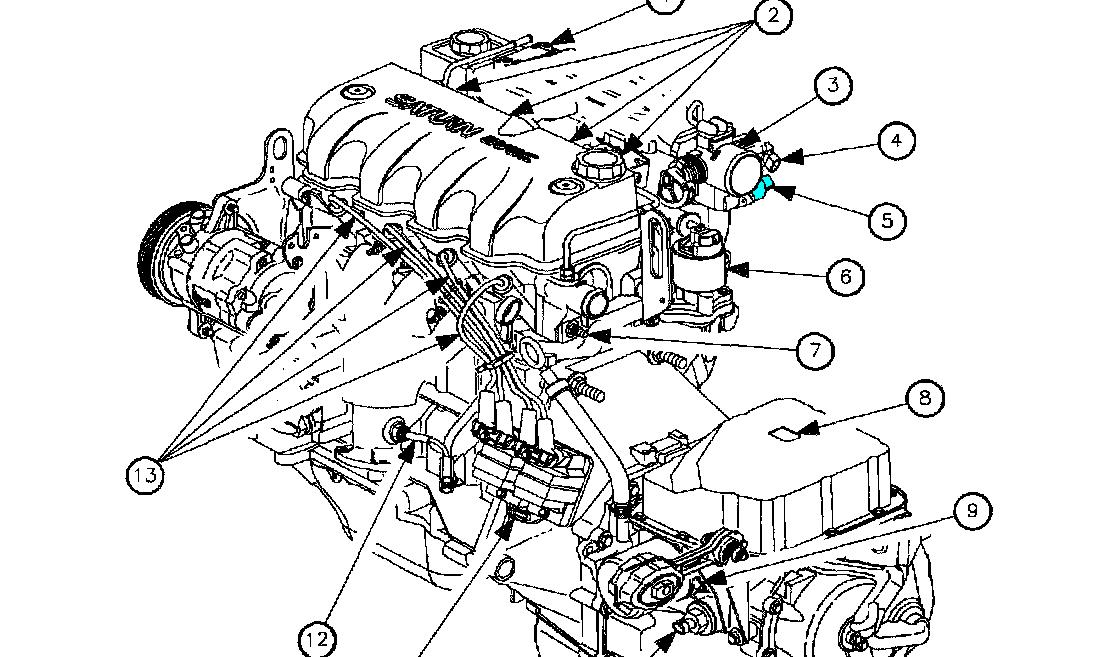 Iac on 1999 Chrysler Lhs Power Steering Diagram